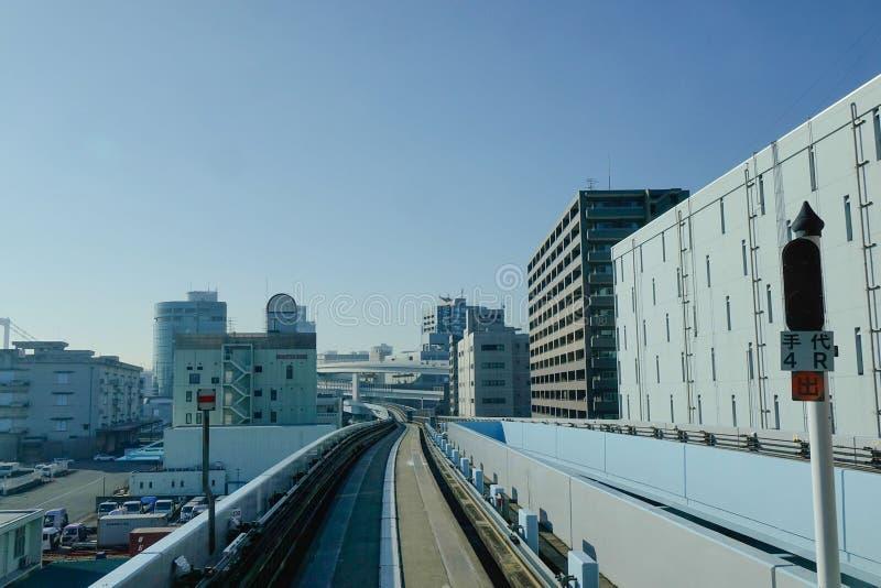 Vía en Tokio, Japón imágenes de archivo libres de regalías
