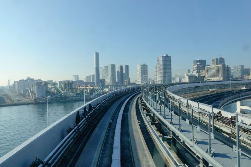 Vía en Tokio, Japón fotografía de archivo