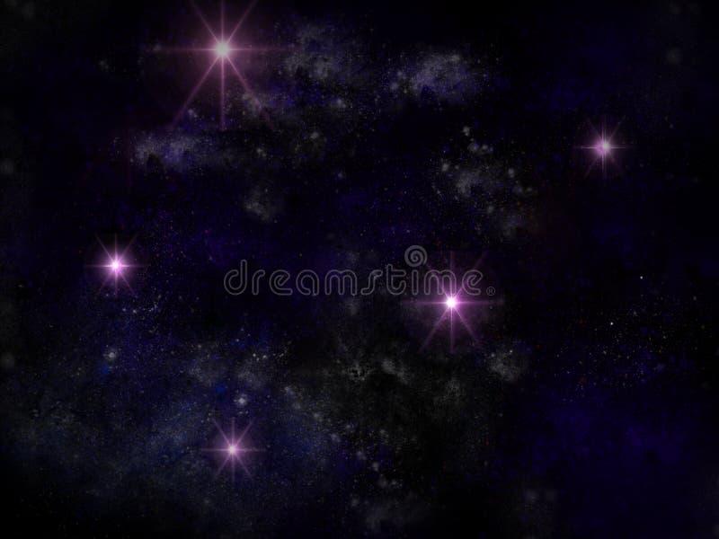 Vía Láctea Imagen de archivo