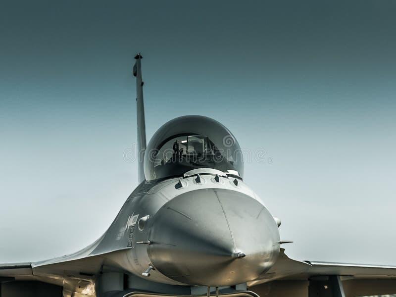 Víbora F-16 foto de archivo libre de regalías