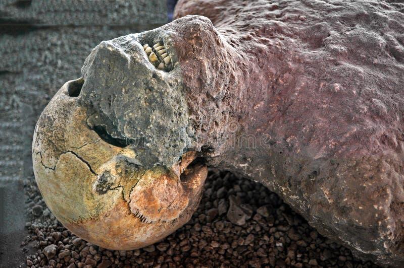 Víctima de Pompeya fotos de archivo