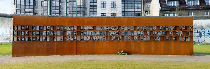 Víctimas del muro de Berlín fotos de archivo libres de regalías