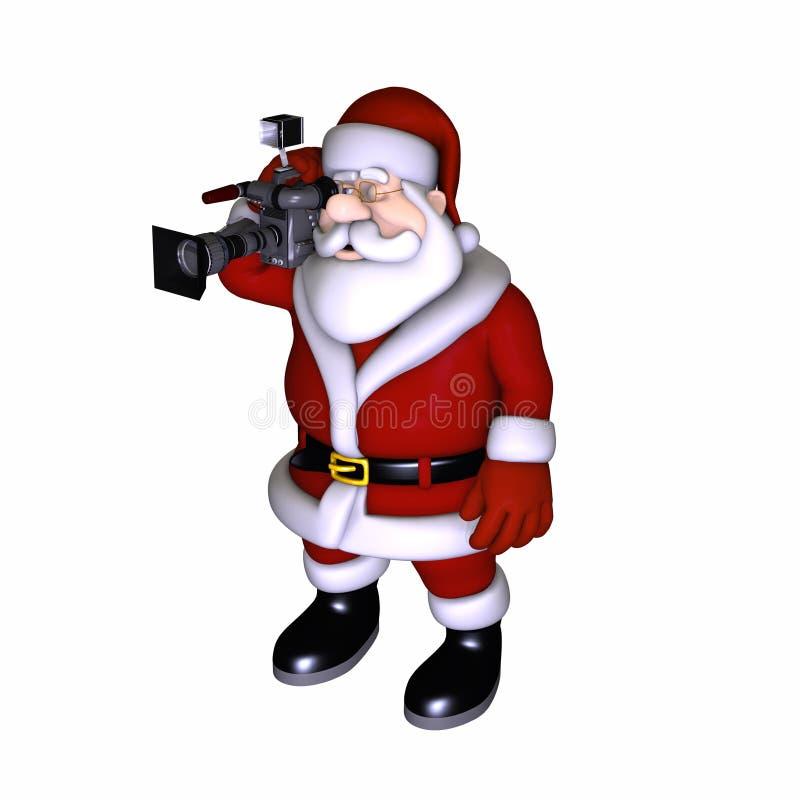 Vídeo 1 de Santa ilustração royalty free