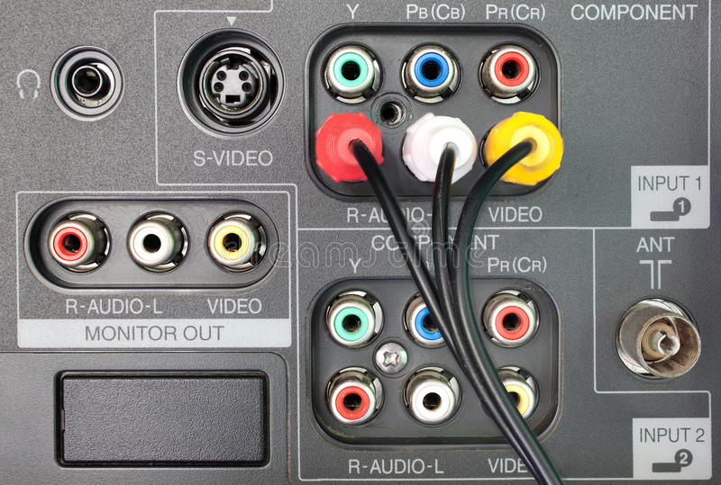 vídeo audio imágenes de archivo libres de regalías