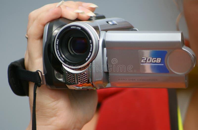 Vídeo câmera. fotos de stock royalty free