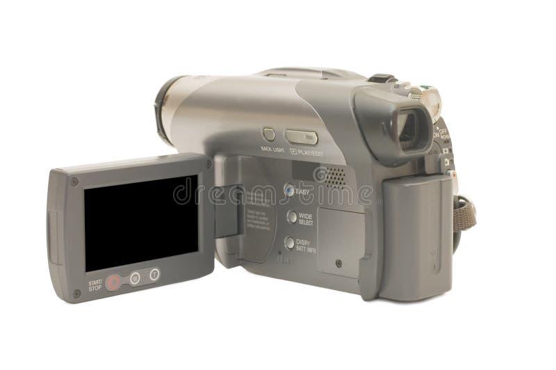 Vídeo câmera cinzento foto de stock royalty free
