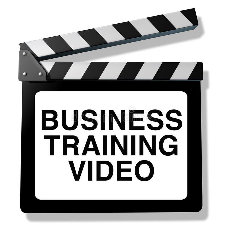 Vídeo de formação do negócio ilustração do vetor