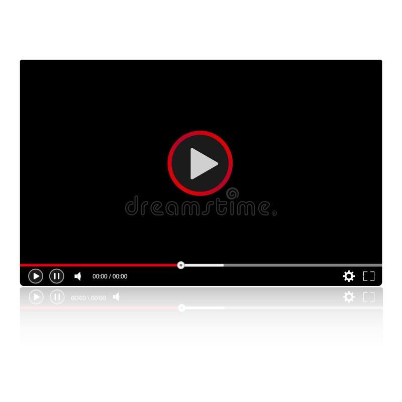 Vídeo Moderno Del Marco Brillante Del Vídeo Para El Sitio Web ...
