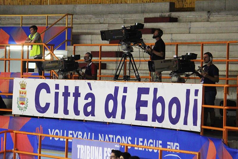 Vídeo no eboli fotografia de stock royalty free