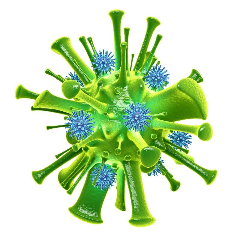 vírus ilustração do vetor