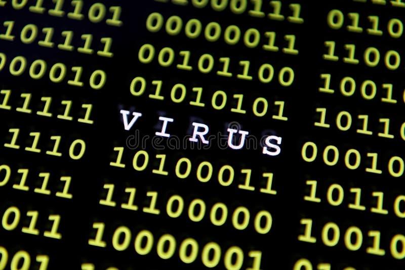 Vírus de computador fotos de stock