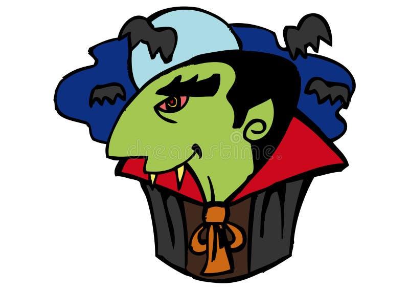 Víspera de Todos los Santos Dracula fotografía de archivo libre de regalías