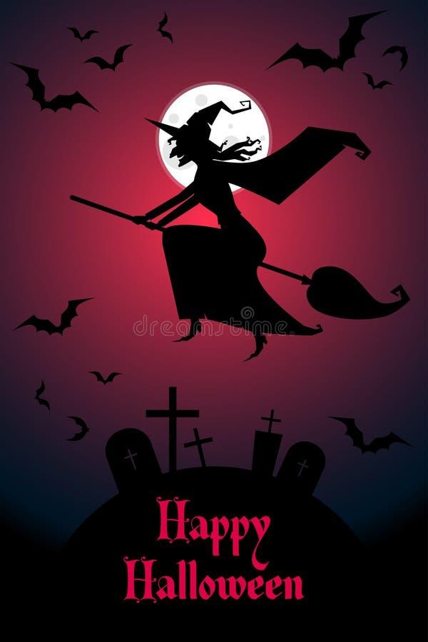 Víspera de Todos los Santos feliz libre illustration