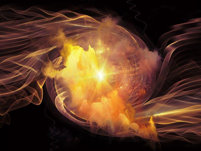 Download Vórtice en espacio stock de ilustración. Ilustración de partícula - 42427607