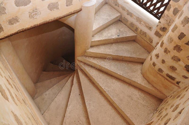 Vôo de escadas foto de stock royalty free