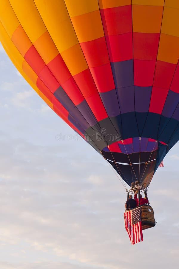 Vôo do balão imagem de stock royalty free