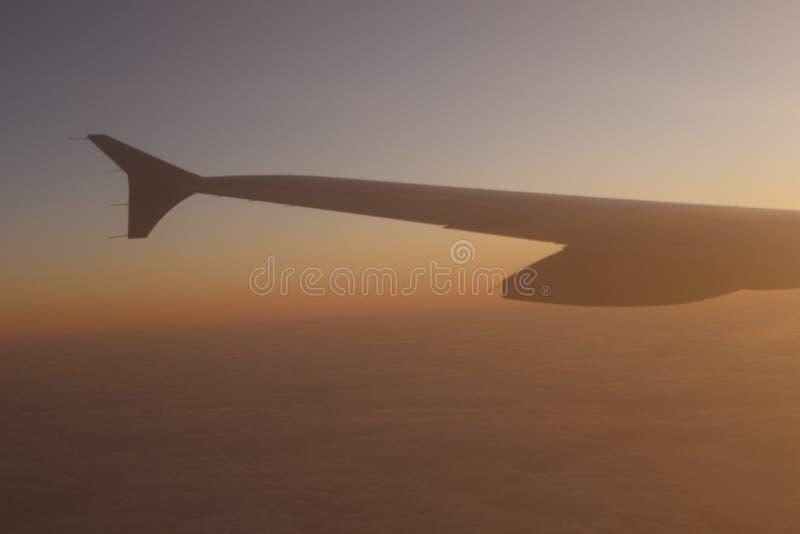 Download Vôo do por do sol foto de stock. Imagem de indústria - 12803528