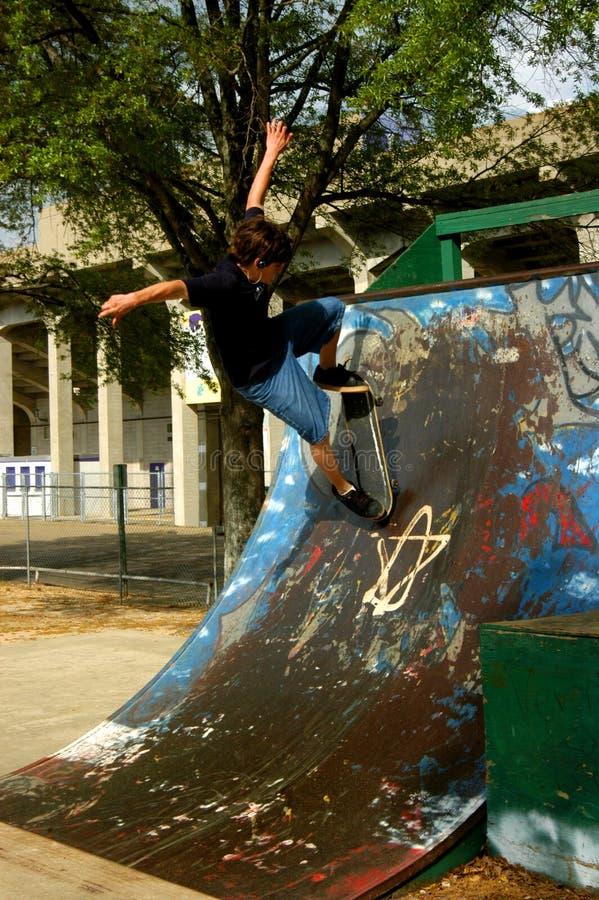 Vôo do skate foto de stock royalty free