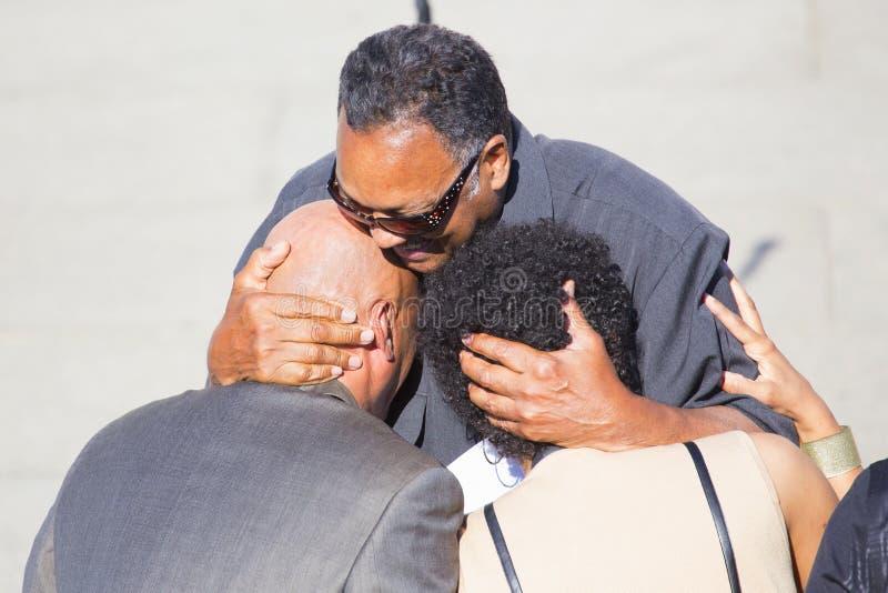 Vördnadsvärda Jesse Jackson Senior, royaltyfri fotografi