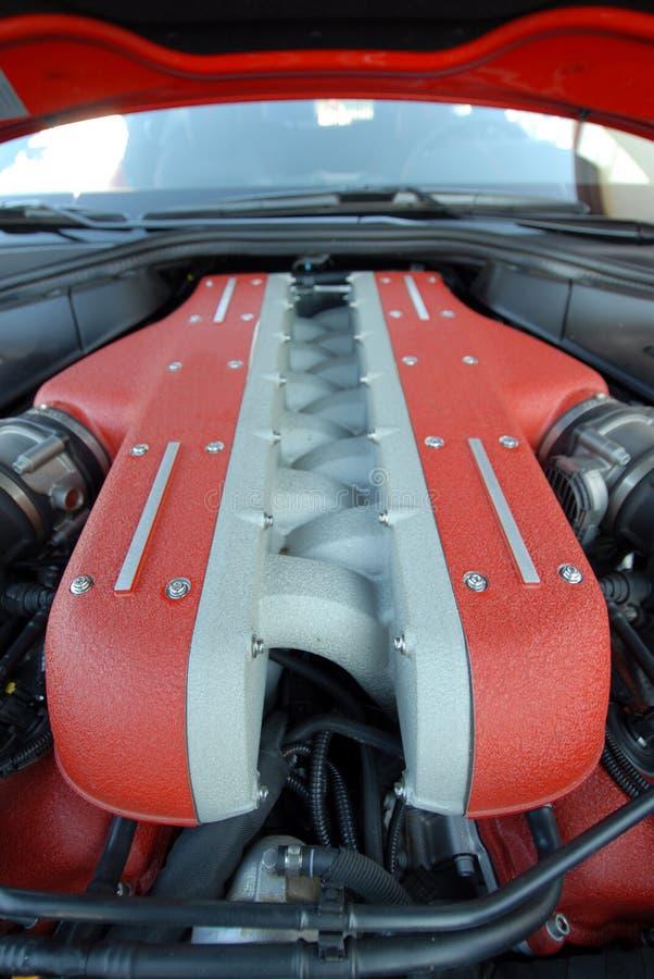V12引擎 免版税库存图片