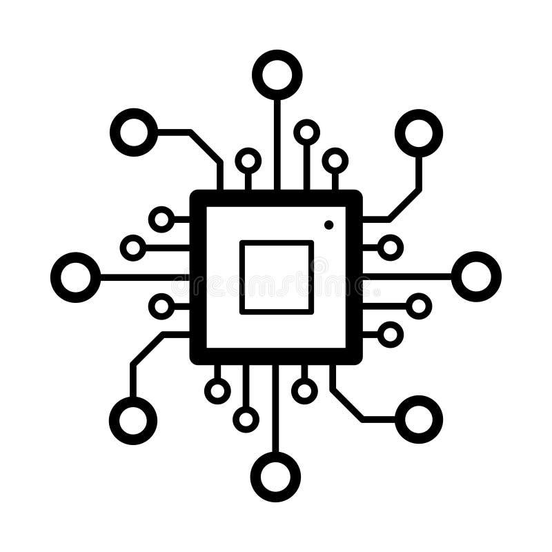 circuit board design stock vector  illustration of