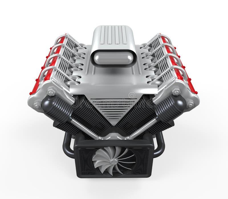 V8-Automotor stockbild