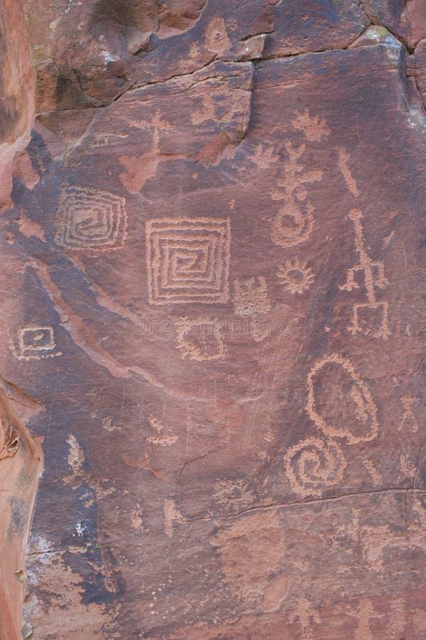 Download V Bar V Heritage Site Petroglyphs Stock Image - Image: 23180943