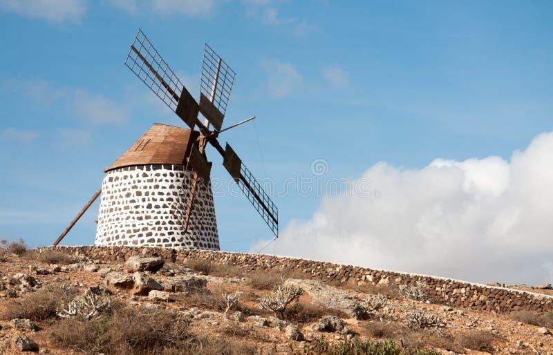 V?derkvarn p? Fuerteventura royaltyfri fotografi