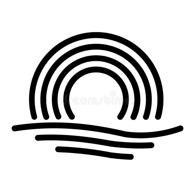 v?dersymbolsdesign royaltyfria bilder