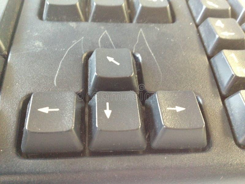 V. Fun keybord computer stock image