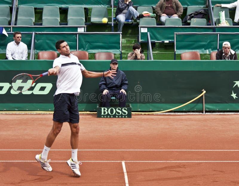 Download V. Hanescu vs S.Stakhovsky editorial photo. Image of defending - 14224511