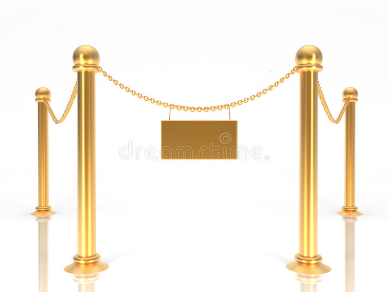 Download V.I.P. zone 02 stock illustration. Image of gold, important - 2361394