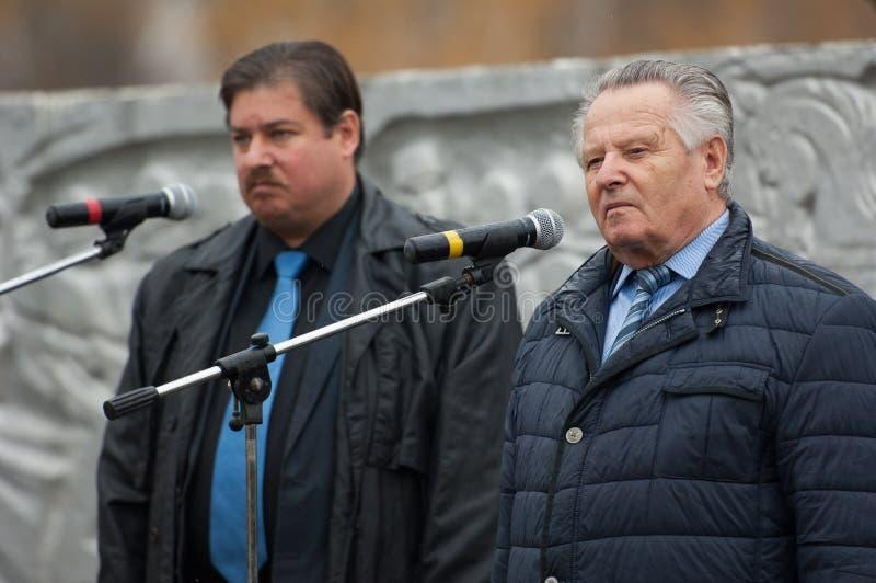 V. Klimov and R. Medinskiy royalty free stock photo