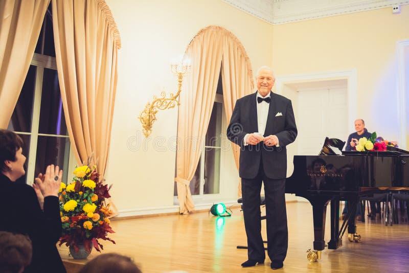 V Noreika, opera piosenkarz zdjęcie royalty free