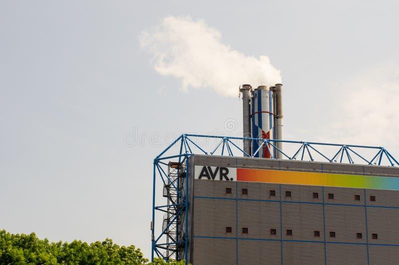 A V R eine M?llverbrennungsanlage stockfoto