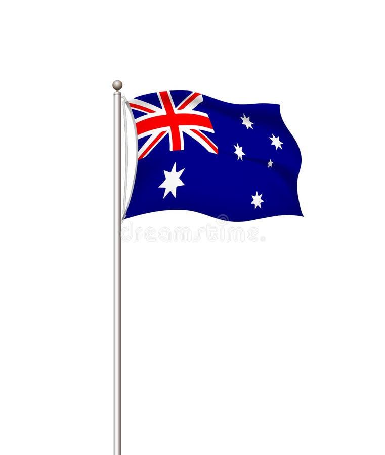 V?rldsflaggor Genomskinlig bakgrund för landsnationsflaggastolpe australasian ocks? vektor f?r coreldrawillustration stock illustrationer