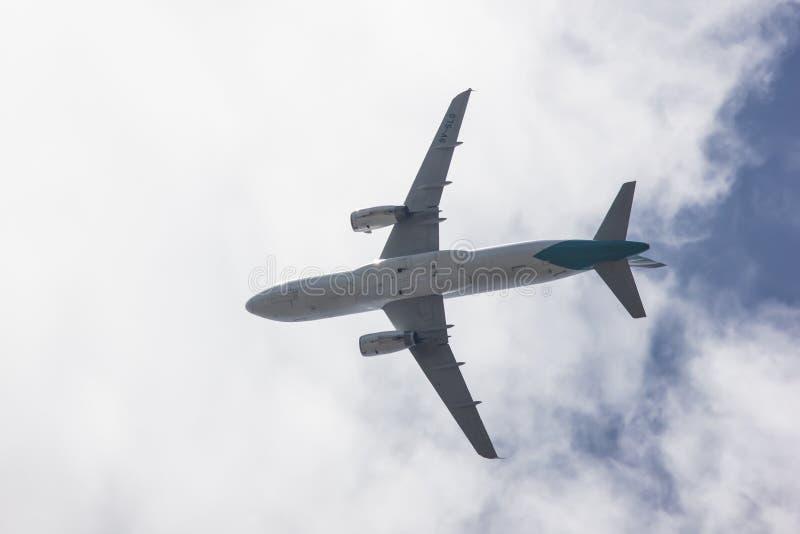 9V-SLG аэробус A320-200 стоковые фото