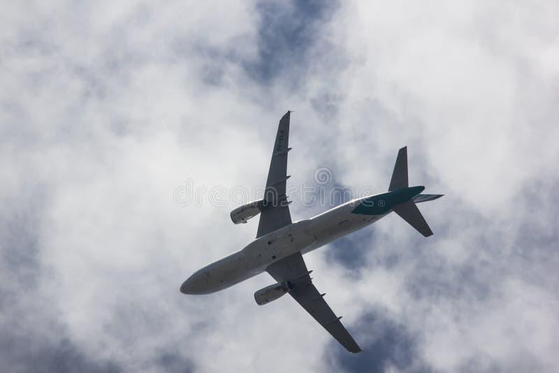9V-SLG аэробус A320-200 стоковые изображения