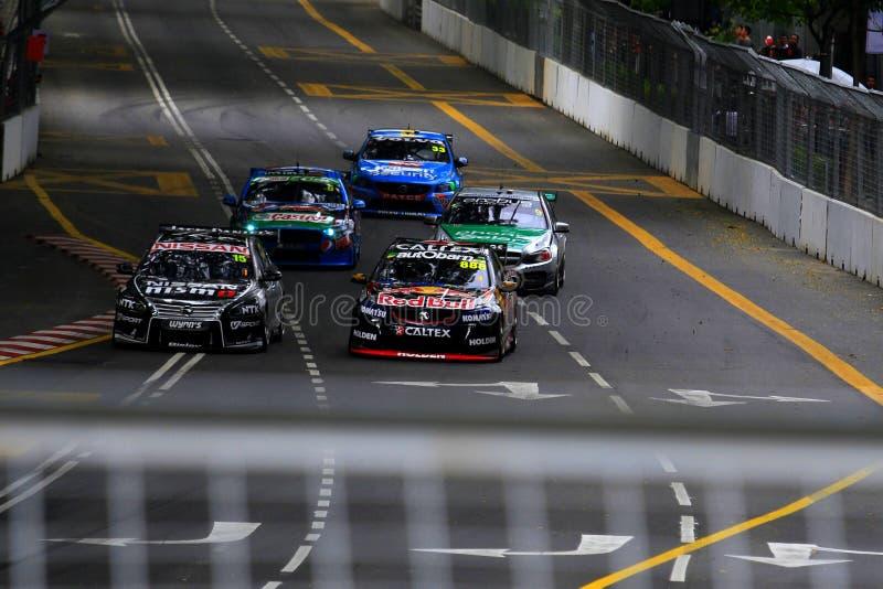 V8 Supercars lizenzfreies stockbild