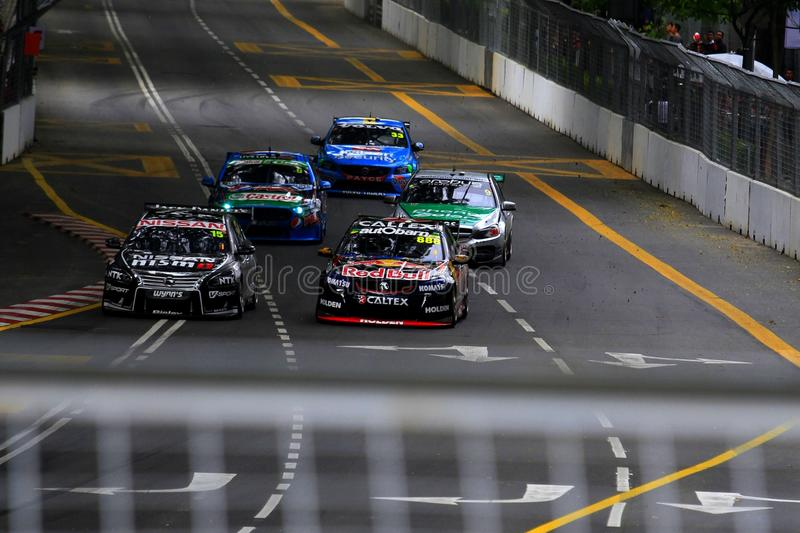 V8 supercars royalty free stock image