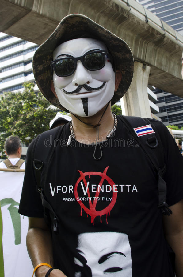 Download V for Vendetta editorial stock photo. Image of white - 32277338