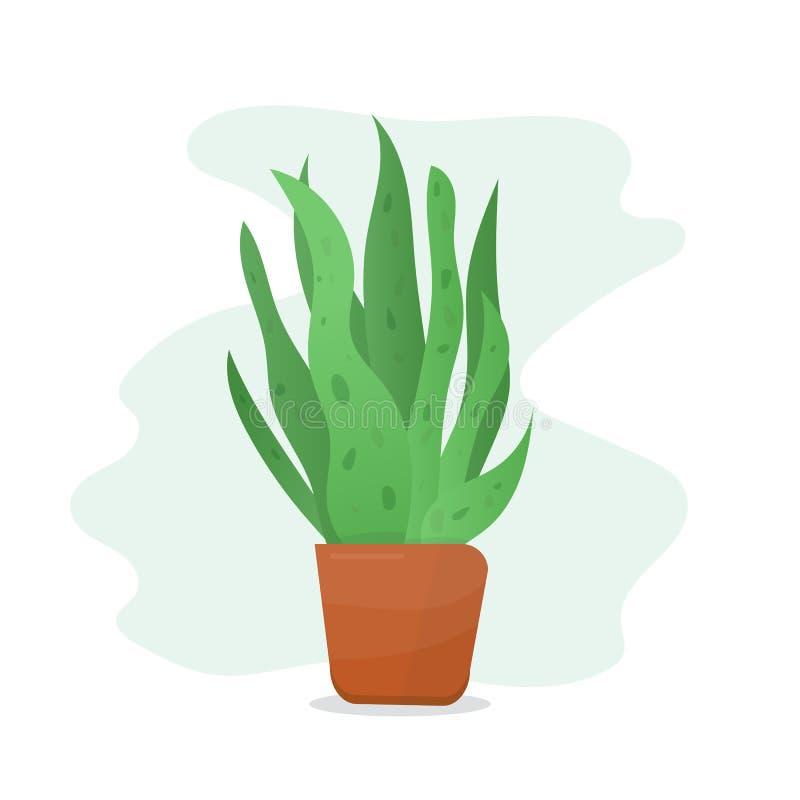 V?xt i blomkruka vektor illustrationer
