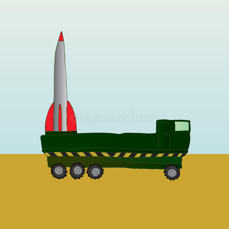 V2 Rocket libre illustration