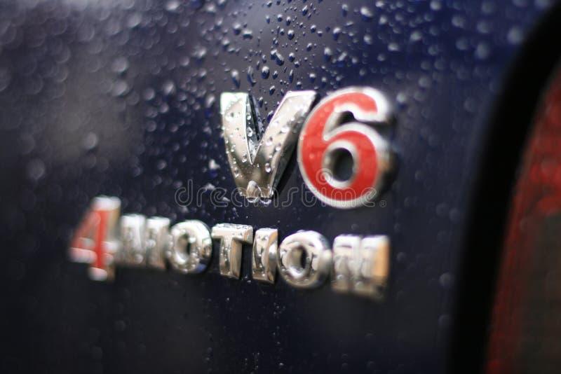 v6logo 库存照片