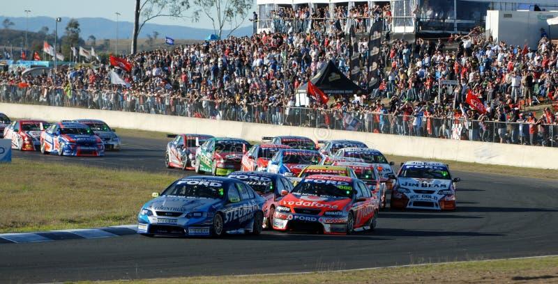V8 Supercars fotografia de stock