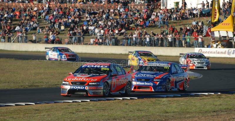 V8 Supercars immagini stock