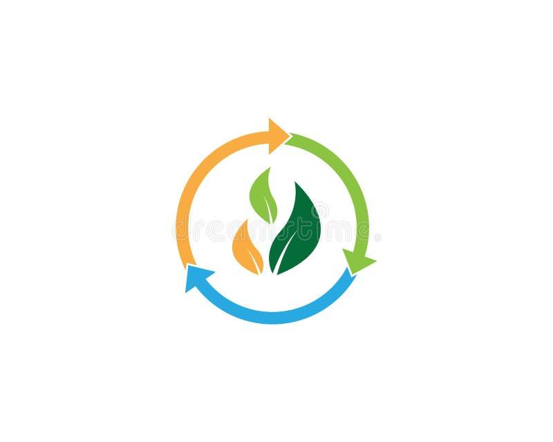 Va el ejemplo verde del vector del icono stock de ilustración