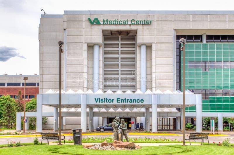 VA Hospital Exterior royalty free stock image