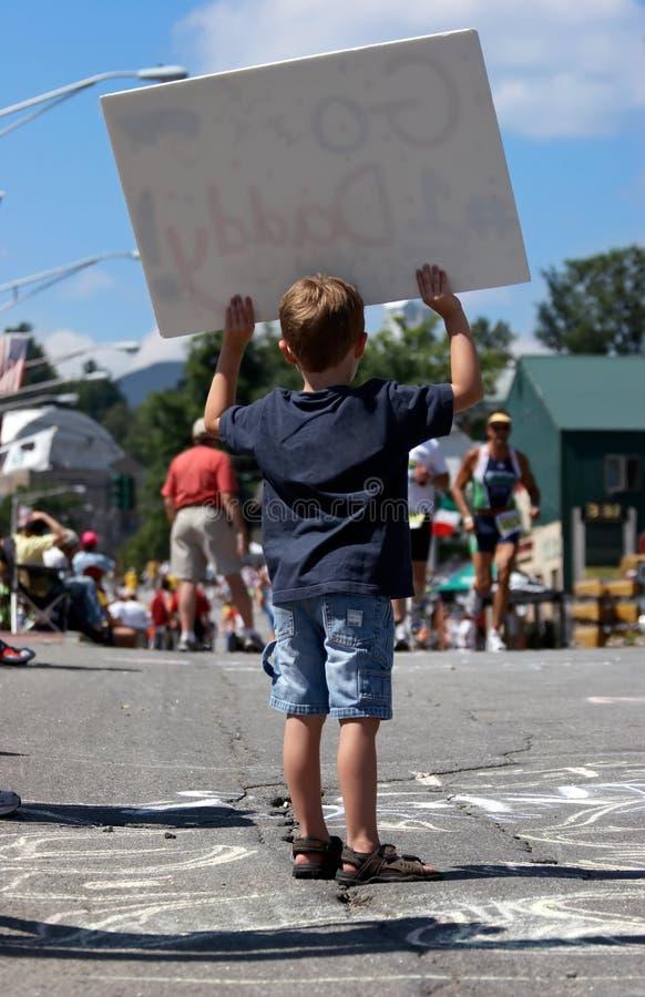 Va il Daddy #1 immagine stock