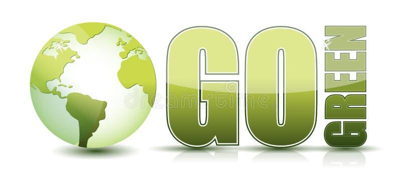 Va il verde illustrazione vettoriale